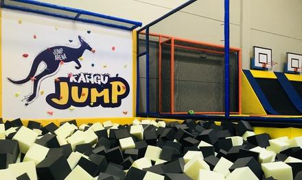 1 hora y media de saltos en camas elásticas para 1, 2 o 4 personas desde 7,95 € en Kangu Jump