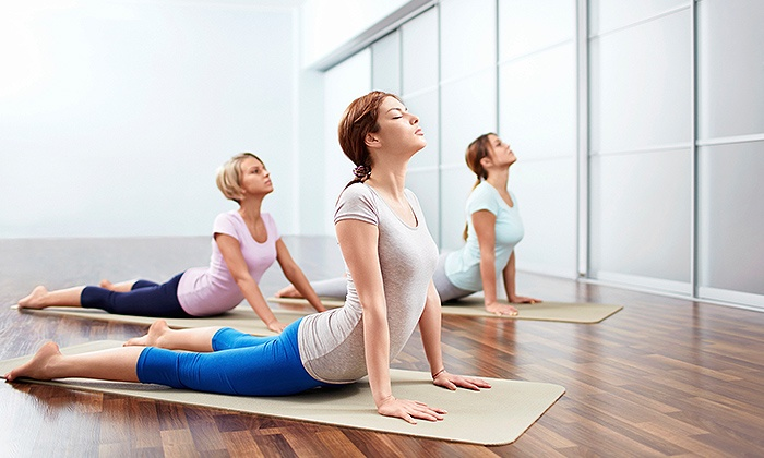 2GFitness - South Edmonton: Two Weeks of Unlimited Fitness Classes or Five Yoga or Mat Pilates Classes at 2GFitness (Up to 56% Off)