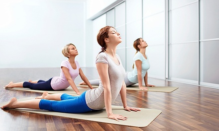 One or Three Months of Unlimited Yoga at Kure Yoga Studio (Up to 75% Off)