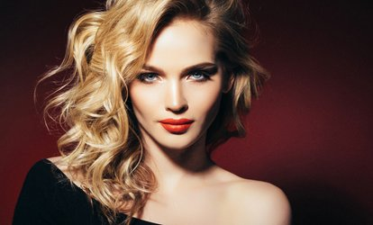 image for Wash, Cut and Blow-Dry Plus Optional Half Head Highlights or Full Head Colour at Ash Nad (Up to 57% Off)