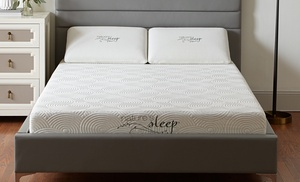 Up To 78 Off On 8 Memory Foam Mattress Groupon Goods