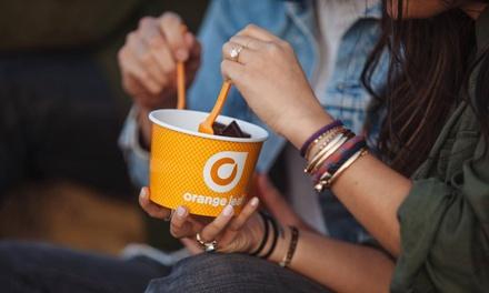 Frozen Yogurt at Orange Leaf Frozen Yogurt (40% Off). Multiple Locations Available.