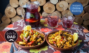 Toro Bravo: Paella with Sangria for Two ($45), Four ($88) or Eight ($169) People at Toro Bravo (Up to $296 Value)