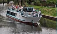 Brunch-Schifffahrt zum Schiffshebewerk Niederfinow für 2 oder 4 Personen mit Fahrgastschifffahrt Oderberg (20% sparen*)