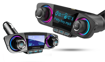 Ricevitore bluetooth V.4.0 per auto con display digitale a LED