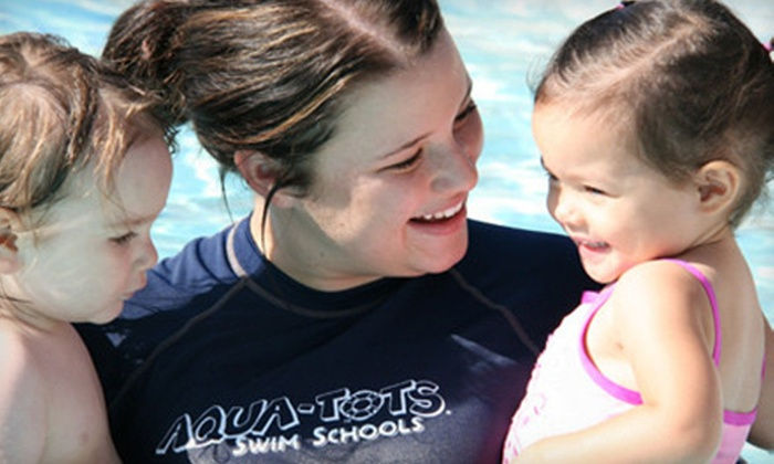Aqua-Tots - Northwest Omaha: $34 for Four Children's Swimming Lessons at Aqua-Tots ($95 Value)