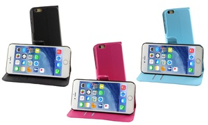 Coque portefeuille iPhone
