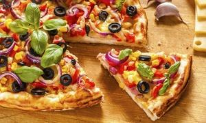 Ristorante Pizzeria di Porta Saragozza: Menu pizza e vino in centro storico per 2 o 4 persone da Ristorante Pizzeria di Porta Saragozza (sconto fino a 64%)