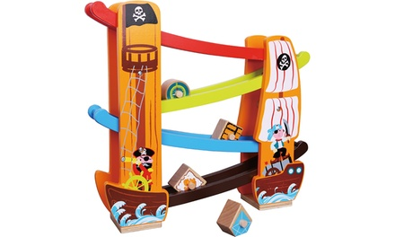 Lelin Wooden Pirate Rolling Slope
