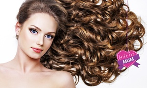 Fallen from Grace Hair Studio: $55 for Cut, Treatment and Blow-Dry or $179 for Balayage with Toner at Fallen from Grace Hair Studio (Up to $305 Value)