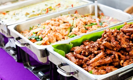 Chinese Lunch or Dinner Buffet for Two People at Colony Best Buffet (Up to 47% Off)