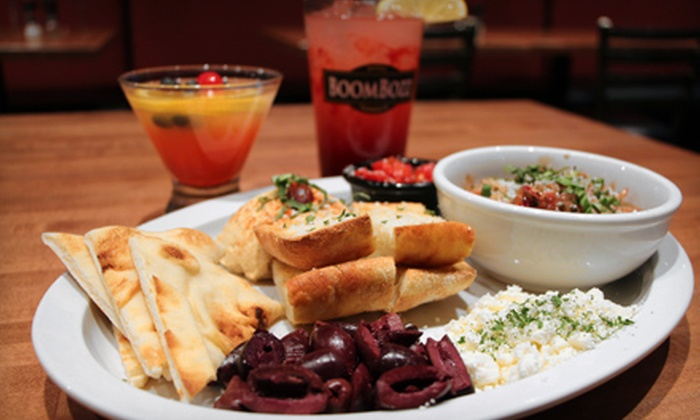 BoomBozz Pizza and Tap House - Westfield: $14 for Two Martinis and One Appetizer at BoomBozz Pizza and Tap House ($27.99 Value)