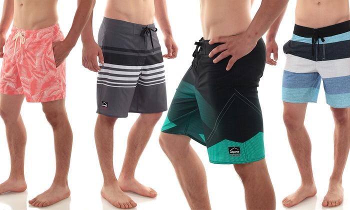 Alpine Swiss Men's Board Shorts and Swim Trunks