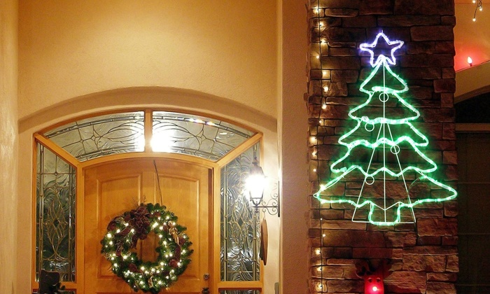 light up indoor and outdoor christmas tree - Light Up Christmas Tree