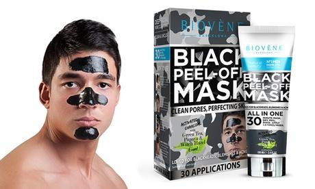 1 o 2 mascarillas negras Biovene para hombre