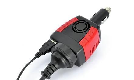 Convertisseur 75W ou 150W 12V DC à 220V AC avec sortie USB 5V  (SaintEtienne)
