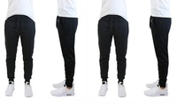 2 Pack Men's Slim-Fit French-Terry Cotton-Blend Joggers