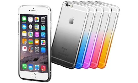 TPU gel hoesje voor iPhone 6/6S, 6 Plus/6S Plus, 7/8, 7 Plus/8 Plus of X, naar keuze met tempered glass screenprotector