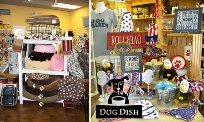 Dog Dish - The Farm: $20 for $40 Worth of Dog Accessories and Paraphernalia at Dog Dish