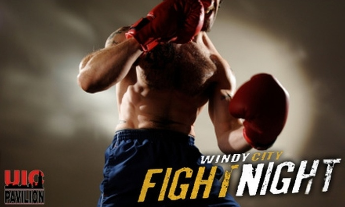 UIC Pavilion - University Village / Little Italy: $15 for a General-Admission Ticket to Windy City Fight Night 15 at UIC Pavilion ($31 Value)
