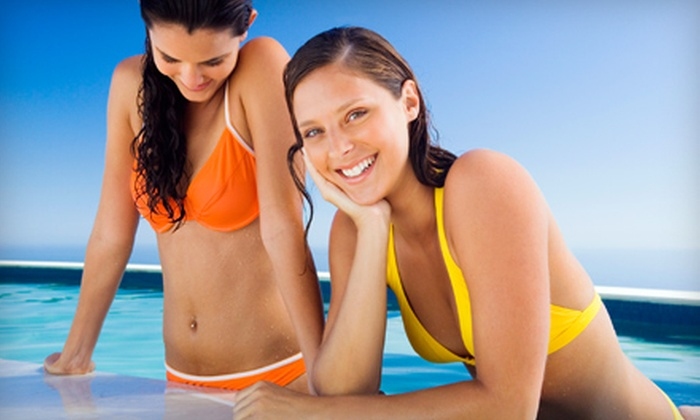 Fabutan Sun Tan Studios - Garneau: $18 for a Sunless Mystic HD Spray Tan at Fabutan Sun Tan Studios ($39.99 Value)