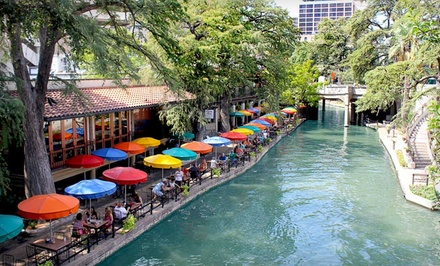 Riverwalk Plaza Hotel & Suites: 1-Night Stay for 2 Adults and Up to 2 Kids in a Deluxe Room with 2 Double Beds (Valid Sunday-Thursday) - Riverwalk Plaza Hotel & Suites  in San Antonio