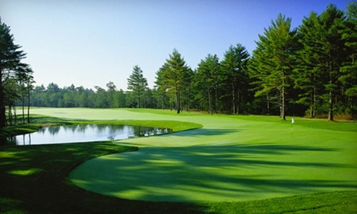 Pinehills Golf Club - The Pinehills: $60 for 18 Holes Plus Greens Fees, Cart Rental, and Range Balls at Pinehills Golf Club in Plymouth (Up to $110 Value)