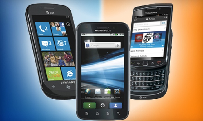 AT&T Portables - Multiple Locations: $20 for $50 Worth of Phones and Accessories at AT&T Portables
