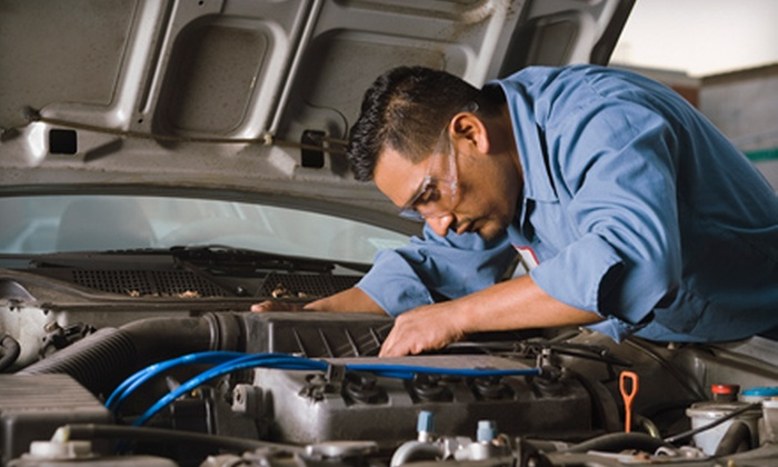 Car-X Tire & Auto - Multiple Locations: Oil-Change Package or $20 for $50 Worth of Auto-Maintenance Services at Car-X Tire & Auto. Nine Options Available.