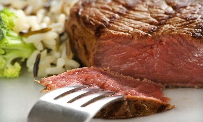 Raindancer Steakhouse - Palm Beach Lakes South: $25 for $50 Worth of Steaks and Seafood at Raindancer Steakhouse in West Palm Beach
