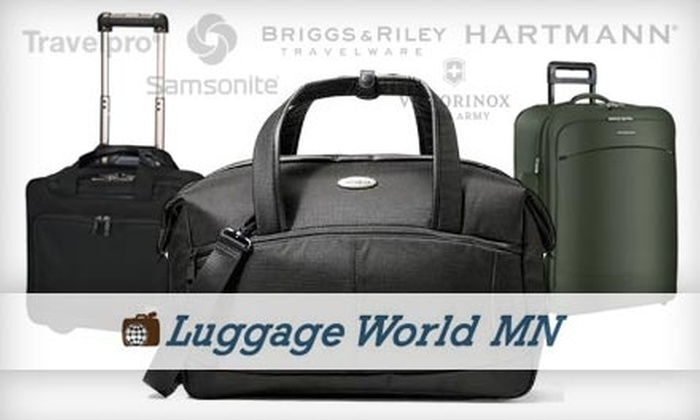 Luggage World MN - St. Louis Park: $39 for $100 Worth of Luggage, Accessories, Gifts and More at Luggage World MN