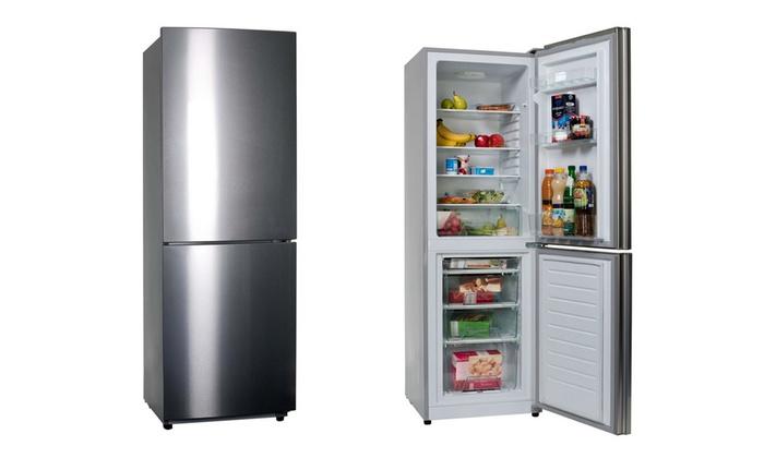 Kühlschrank Silber : Comfee kühlschrank kgk a groupon