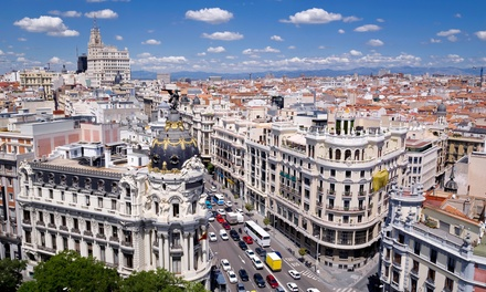 Groupon Deal: ✈ 7-Day Madrid and Barcelona Vacation with Airfare from go-today. Price per Person Based on Double Occupancy.