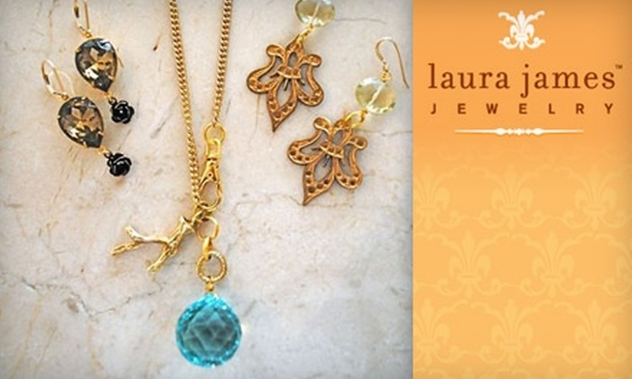 Laura James Jewelry: $35 for $75 Worth of Eclectic, Chic Jewelry from Laura James Jewelry