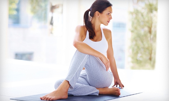 Harmonia Yoga - Corte Madera: 5 or 10 Aroma-Yoga Classes with Spa Extras at Harmonia Yoga in Corte Madera (Up to 57% Off)