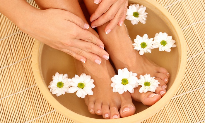 Four Seasons Skin Care & Spa - San Jose: Classic Mani-Pedi or Gel Manicure and Deluxe Pedicure at Four Seasons Skin Care & Spa (Up to 34% Off)