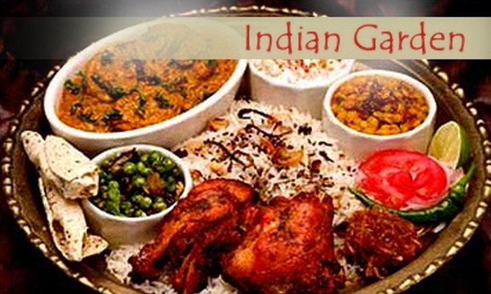 Indian Garden - West Rogers Park: $15 for $35 Worth of Indian Cuisine and Drinks at Indian Garden on Devon Avenue