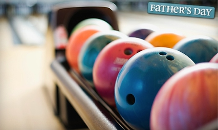 Chalet Lanes & Lounge - Wisconsin Dells: $19 for Bowling, Shoe Rentals, and $10 Worth of Food at Chalet Lanes & Lounge in Wisconsin Dells (Up to $46 Value)