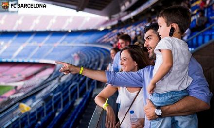 Paga 1€ por un código descuento de 40% en la entrada al Camp Nou Tour Guiado