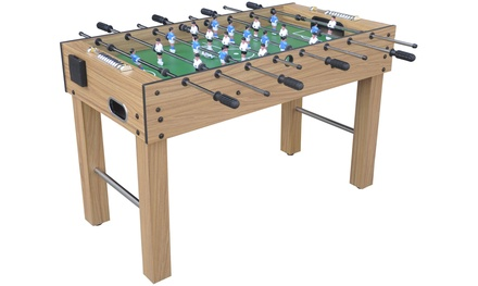 Fußballtisch mit Getränkehalter, 2 Bällen und abnehmbaren Füßen (Frankfurt)