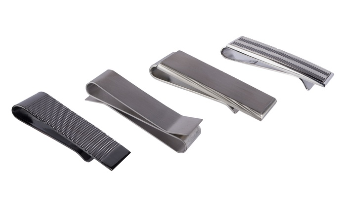 Kenneth Cole Solid Silver Money Clips: Kenneth Cole Solid Silver Money Clips