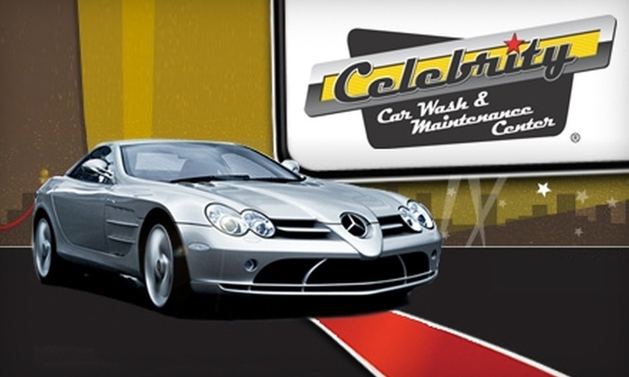 Celebrity Car Wash and Maintenance Center - Flower Mound: $25 for Three Directors Car Washes ($57 Value) at Celebrity Car Wash and Maintenance Center in Flower Mound