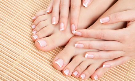A Manicure and Pedicure from Flawless Full Service Salon & Make Up Studio (45% Off)