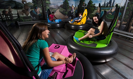 C$25 for  Toward Attractions and Games at Castle Fun Park