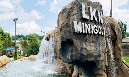 One Round of Mini Golf for Two, Four, or Six People at Lake Norman Mini Golf (Up to 47% Off)