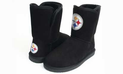 a8fa18a2260f79 Shop Groupon Cuce Shoes Women s NFL Team Colored Boots