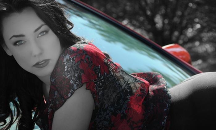 Glamour Shots - Winkler Safe Neighborhood: Boudoir Portrait Package or Makeover and Portrait Services at Glamour Shots