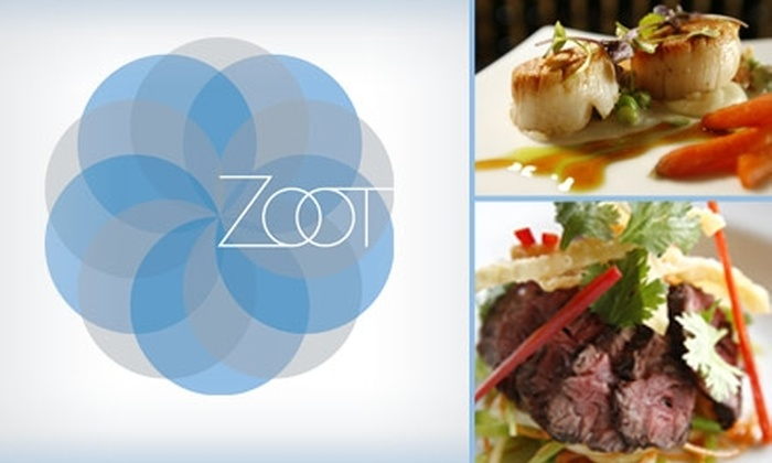 Zoot - The Uplands: $30 for a Five-Course Tasting Menu at Zoot ($55 Value)