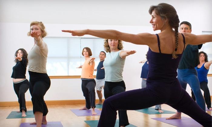 The Yoga Path - Davison: $24 for Five Classes at The Yoga Path in Davison ($60 Value)