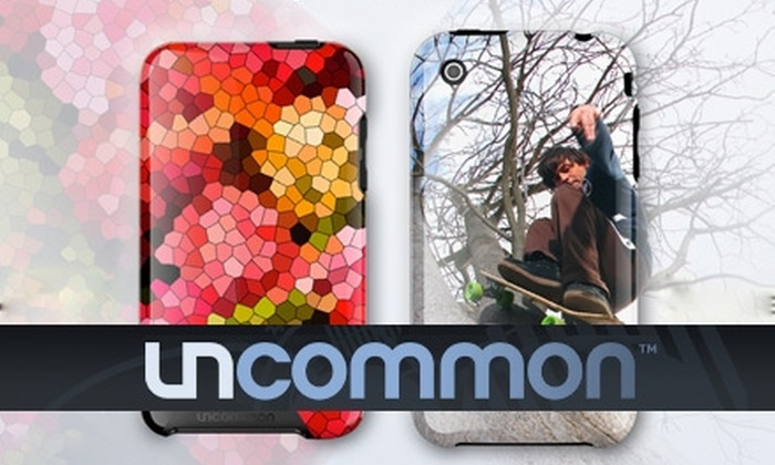Uncommon - Atlanta: $20 for a Customizable iPhone 3G/3Gs Case from Uncommon ($39.95 Value)